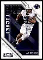 2018 PANINI CONTENDERS GAME DAY SAQUON BARKLEY RC PENN STATE NITTANY LIONS #5