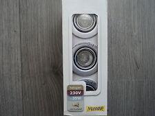 Massive einbauspot  59463 48 10 model Mango  inkl. 3 x 35W...3er set