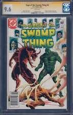 Saga of the Swamp Thing #4 SS CGC 9.6 Auto Thomas Yeates