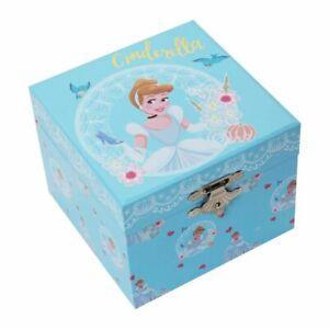 Disney DI708 Cinderella Pastel Musical Jewellery Box New & Boxed