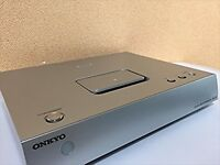 ONKYO digital media transport Silver ND-S10 S iPod / iPhone USED