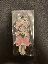 Cute Bunny Rabbit Girl Iron On Patch New