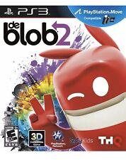 De Blob 2 PlayStation 3 Ps3 Kids Game Ps Move (the Blob)