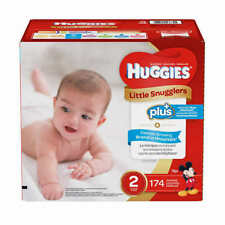 Huggies Plus Diapers Size 2: 12-18lbs, 174ct - Free Shipping - New!