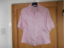 Really pretty Mexx top size UK 16 - pink - 100% cotton. NEW.