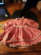 American Girl Addy Striped Dress NEW Retired Pleasant Company Short Story