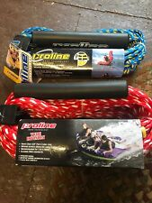 Two Proline Heavy Duty Tow Ropes Tube Water Boat New