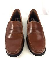 Izod Edmund Tan Memory Foam Gel Tech Size 9 M Penny Loafer