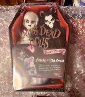 Living Dead Dolls Beauty and The Beast Scary Tales Mezco Toyz 2017 LDD NEW