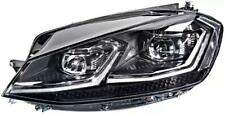HELLA Adaptive LED Headlamp Nearside Fits VW Golf Mk7 VII 12-17 1ZX013924-271