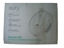 New eufy BoostIQ RoboVac 30C, Robot Vacuum Cleaner, Super-Thin,, Black, Wi-Fi
