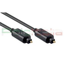 Cavo 3m audio TOSLINK ottico digitale spdif optical cable per cuffie stereo hifi