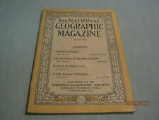 ANTIQUE NATIONAL GEOGRAPHIC August 1916 SARDINIA Argentina & Chile HONDURAS