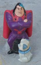 Figurine personnage Disney avec chien (tête qui bouge),