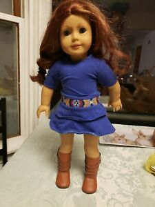 American Girl Doll Saige ( retired 2013 ). Girl Of the year 2013