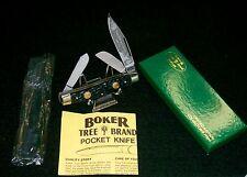 "Boker 6066 Tree Brand Knife Serial #10371 4"" Made in Germany W/Packaging,Papers"