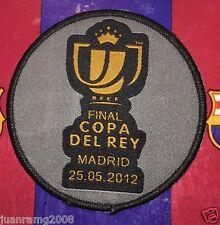 PARCHE COPA DEL REY 2012 EN TELA FC BARCELONA/ AHT BILBAO