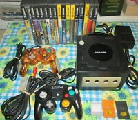 Nintendo GameCube Console 17 Games Tested Working Zelda Mario Monkey Ball Rayman