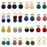 Boho Fashion Large Circle Geometry Metal Earring Ear Stud Earrings Women Jewelry