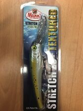 Mann's Bait Co Stretch 25+ Textured Trolling Bait  Saltwater Lure Menhaden New