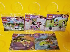 """5 NEW RETIRED LEGO FRIENDS POLY BAG SETS.. Many """"LOTS"""" listed to choose from"""