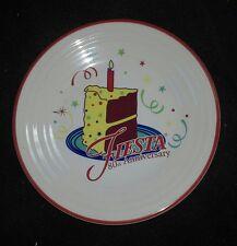 "FIESTA 80th Anniversary birthday CAKE 2016 9"" LUNCHEON lunch PLATE new 1ST"