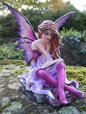 14327  FIGURINE  STATUETTE FEE  ELFE NATURE MEDITATION   FAIRY   HEROIC  FANTASY