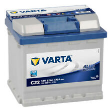 Autobatterie VARTA Blue Dynamic C22 12V 52Ah 470A/EN ersetzt 44 45 50 54 55 60Ah