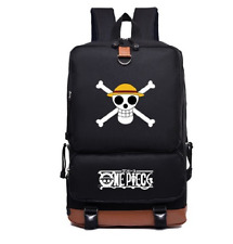 (Malaysia Ready Stock) One Piece Bag Backpack Black Boy Man Girl Woman Luffy Guy