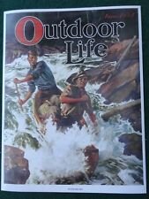 Outdoor Life Magazine Cover Poster, June 1934