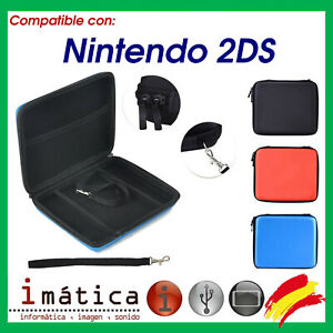 Cover For Console Nintendo 2DS Zip Case Bag Carrier