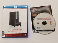 Welcome to PlayStation 3 PS3 Network Complete Not For Resale Blu-Ray Disc
