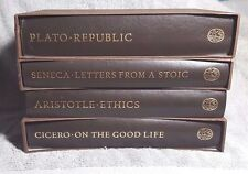 FOLIO SOCIETY-Great Philosphers Of The Ancient World-Four Volumes
