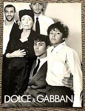 Rare 2010 Vogue Magazine Advert Art Picture Dolce Gabbana D&G Steven Klein