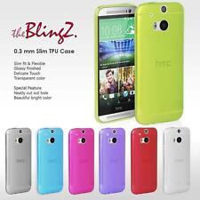 Glänzende Handyhüllen & -taschen aus Silikon für das HTC One M8