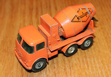 matchbox series king size no 13 ready-mix concrete truck