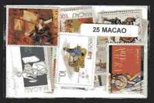 Macao - Macau 25 timbres différents
