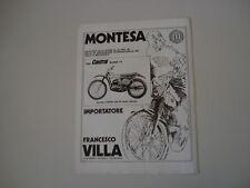 advertising Pubblicità 1973 MOTO MONTESA CAPPRA 250 VR