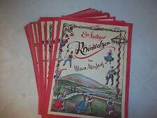"""Notenbuch""""Ein lustiger Rhönwalzer""""Maria Meyfarth-Gesang Piano Noten-Musikschule"""