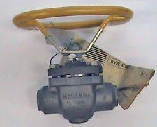 "1/2"" McCanna Ball Valve Class 300 255-0284 M35-1 SS"