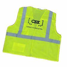 CSX Transportation Safety Vest 5 Point Breakaway Vest Various Sizes Brand NEW