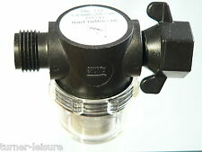 """SHURflo WATER PUMP FILTER STRAINER 1/2"""" Half Inch Thread connector Part 255-215"""