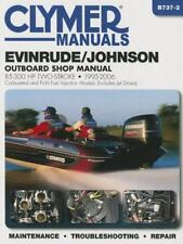 Evinrude/Johnson 85-300 HP Two-Stroke 1995-2006: Outboard Shop Manual (Clymer Ma