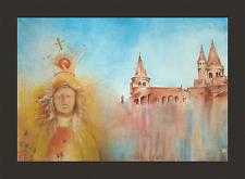 Original Ölbild Kunstwerk auf Leinwand * Work of Art by Dr. László Kova 1987´s