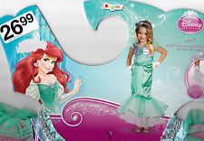 Disney's Princess Ariel Halloween Costume - Girl's Size 7+ M(7-8) New
