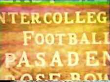 1941 Rose Bowl Football DVD Nebraska vs Stanford FRANKIE ALBERT Free Shipping