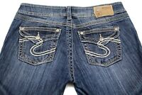 Silver Jeans Suki Surplus Women's boot cut size 32""