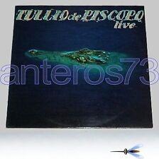 """TULLIO DE PISCOPO """"LIVE"""" RARO LP 1981 - SANTE PALUMBO"""