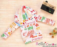 ☆╮Cool Cat╭☆04.【NP-B07】Blythe/Pullip Hoodie Top(Long Sleeves)# Fruit White