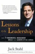 Lessons on Leadership: The 7 Fundamental Management Skills for Leaders at All